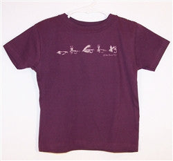 Toddler Tshirt - Tied Flies - The Painted Trout