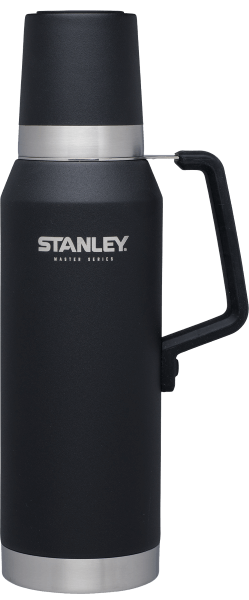 Stanley Master Vacuum Bottle 1.4qt. Foundry Black