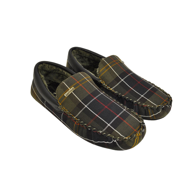 BARBOUR Monty Mocassin Slipper - The Painted Trout