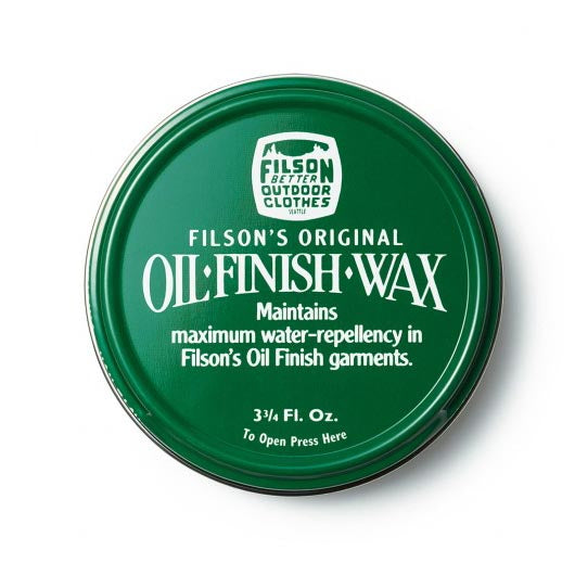 Filson Oil Finish Wax 3.75 oz - The Painted Trout