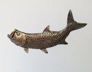Pewter Pin: Tarpon, Left - The Painted Trout