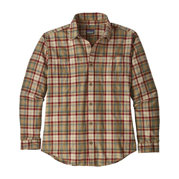 Patagonia Men's Long Sleeve Pima Cotton Shirt