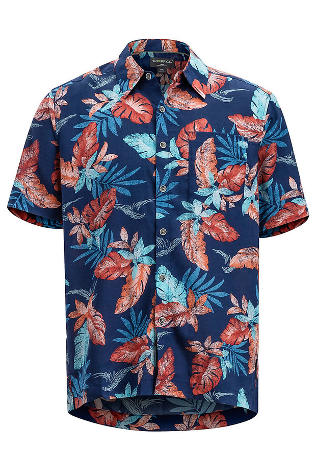 EXOFFICIO Men's Pindo Print Short-Sleeved Shirt - The Painted Trout