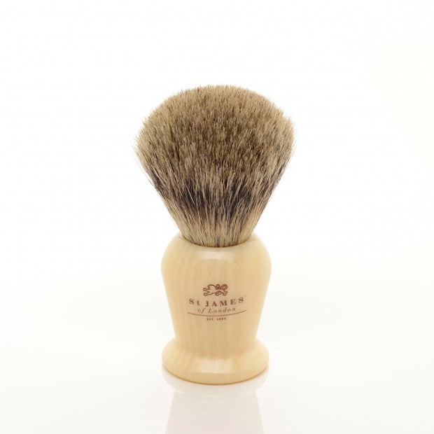 St. James of London Pure Badger Bristle Shaving Brush