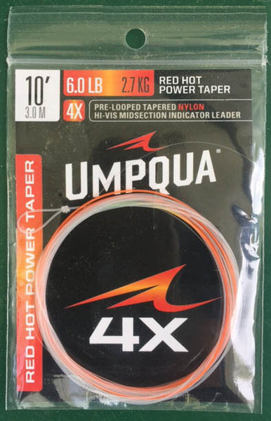UMPQUA Red Hot Power Taper - The Painted Trout