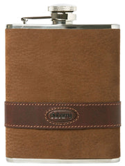 DUBARRY Rugby Leather Hip Flask - The Painted Trout