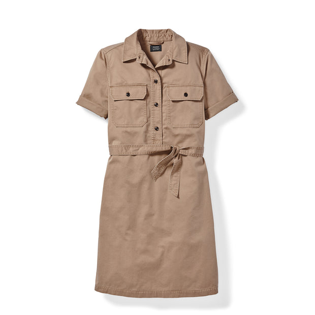 Filson Women's Colville Short-Sleeve Shirt Dress - The Painted Trout