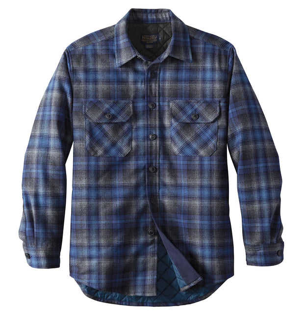 Pendleton Men's Quilted Shirt Jac