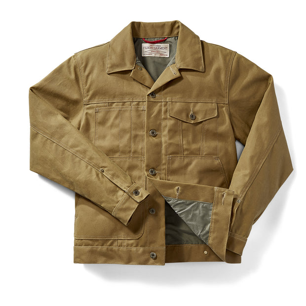 Filson Short Lined Cruiser - Dark Tan - The Painted Trout