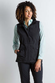 ExOfficio Women's Sol Cool FlyQ Vest Black - The Painted Trout