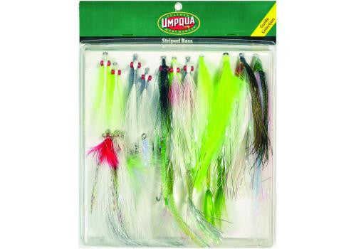 FLY ASSORTMENT STRIPED BASS DELUXE SELECTION - The Painted Trout