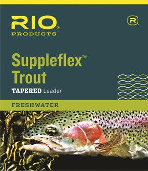 RIO Suppleflex Trout Leaders - The Painted Trout