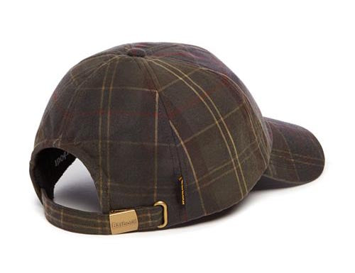 BARBOUR Tartan Wax Sports Cap Classic - The Painted Trout