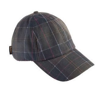 BARBOUR Tartan Wax Sports Cap Classic - The Painted Trout b6b050362749