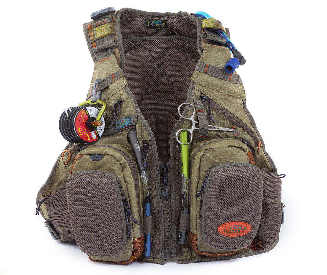 FISHPOND Wasatch Tech Pack Vest - Driftwood - The Painted Trout