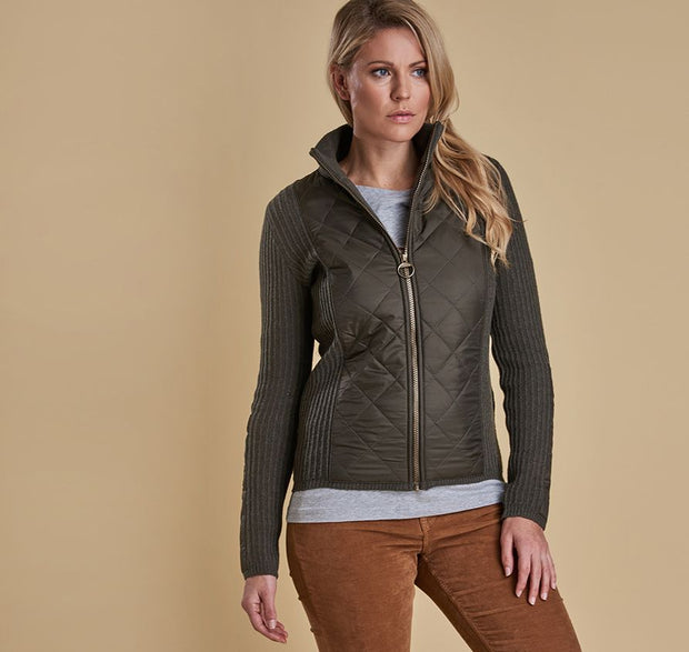 Barbour Women's Sporting Zip Knit - The Painted Trout
