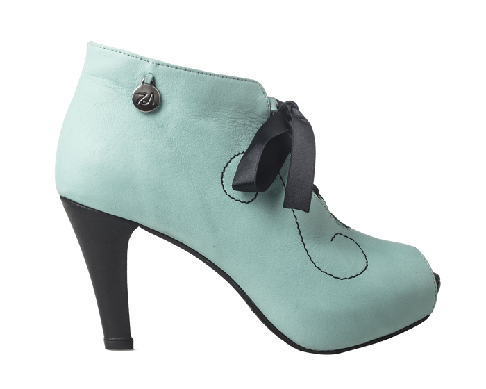 CC - Curly Fun Bootie Mint Green