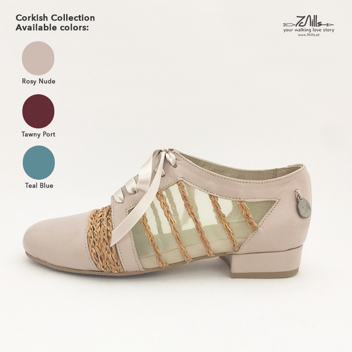 Corkish Collection SS18 - Oxford Rosy Nude