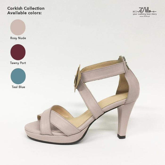 Corkish Collection SS18 - Sandal Rosy Nude