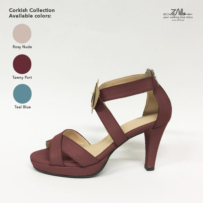 Corkish Collection SS18 - Sandal Tawny Port