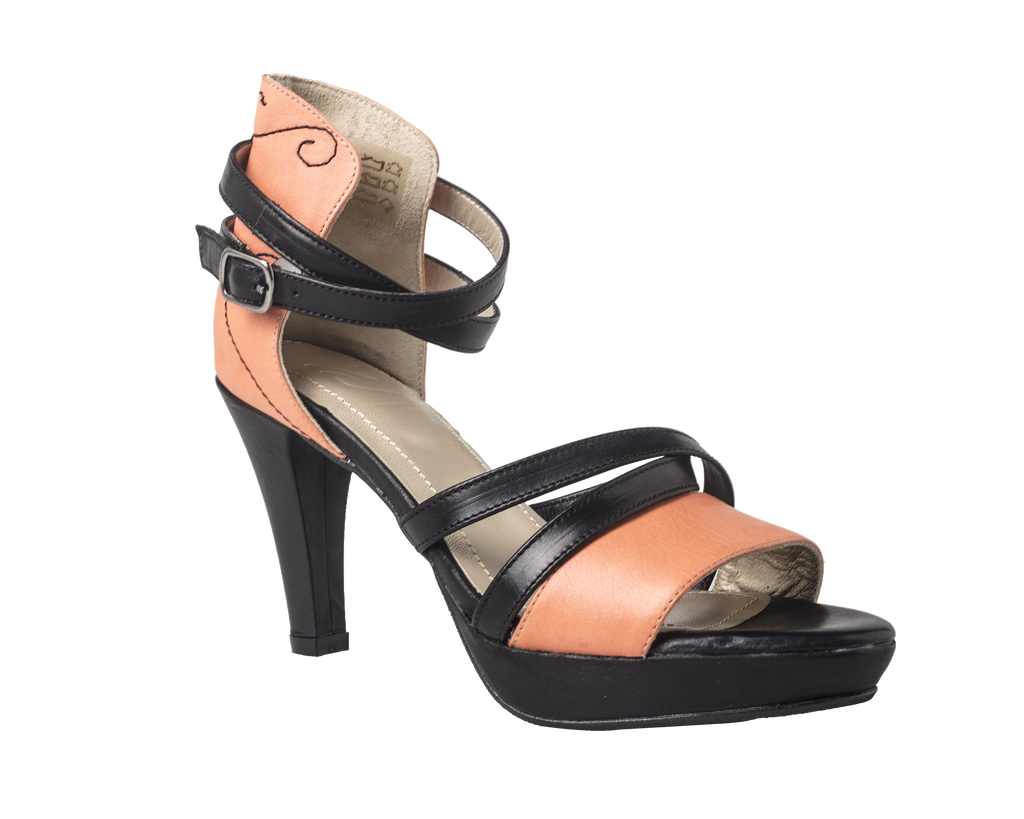 CC - Too Curly Sandal Coral