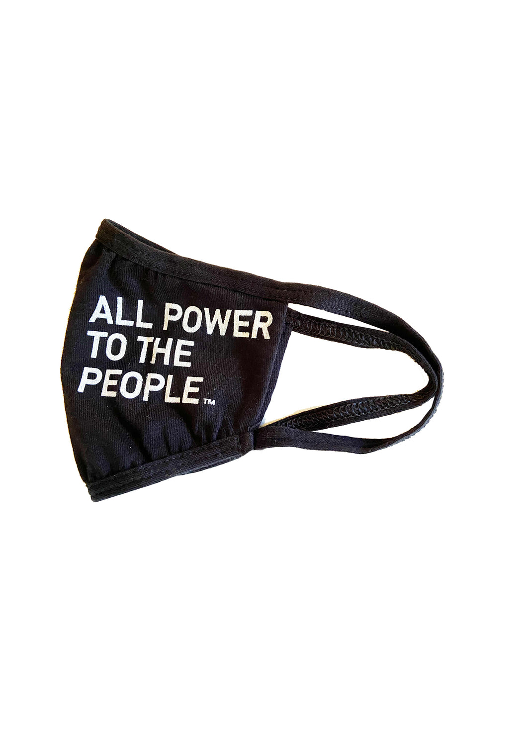 PRE_ORDER NOW! All Power 2-PLY REUSABLE FACE MASK-BLACK