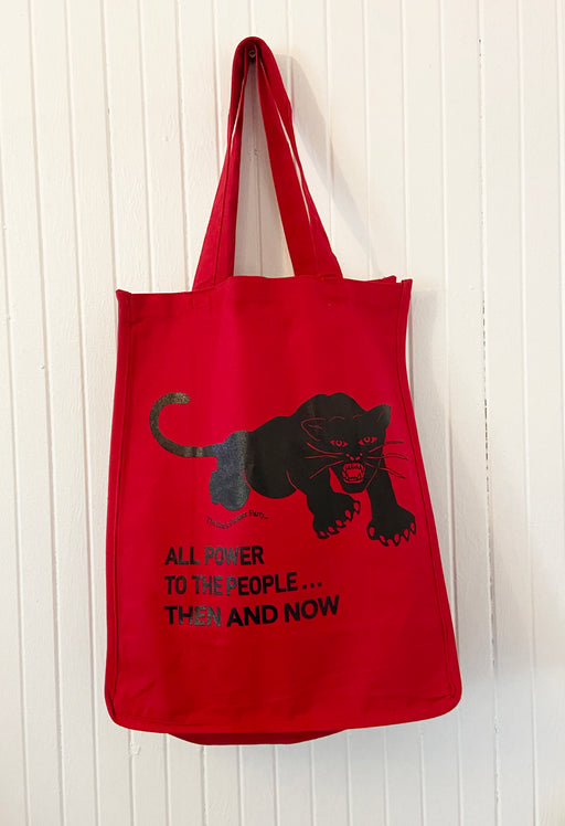 PANTHER/ RED XL Tote Bag HPN11