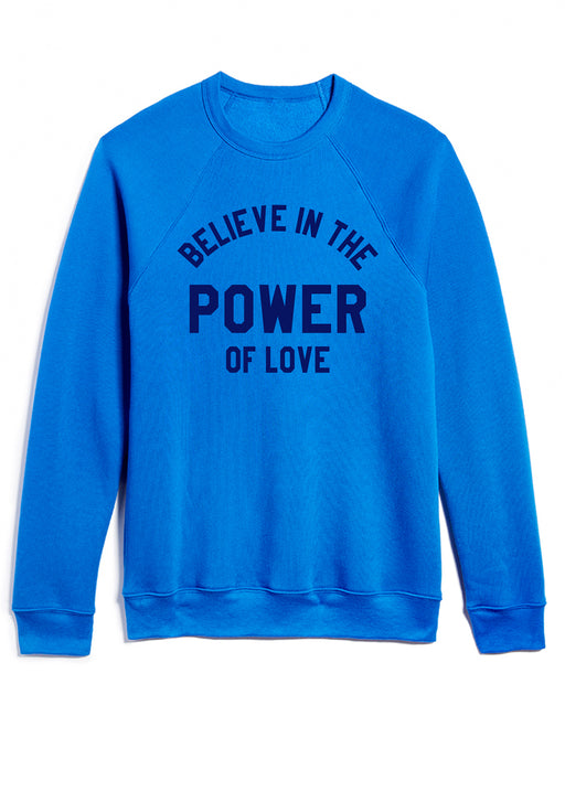 POWER of LOVE / BLUE Sweatshirt ONW-PLUV-210-BLU