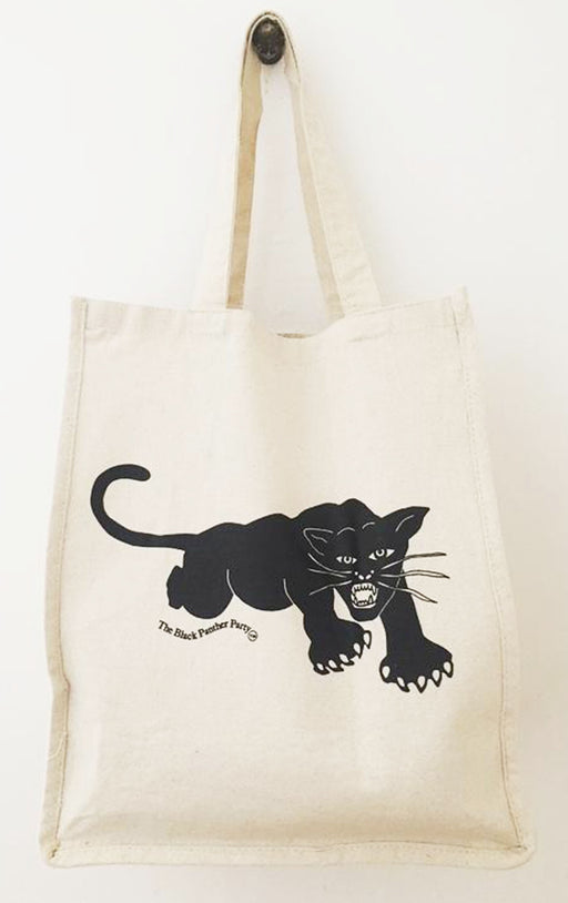 Pre-Order only PANTHER/NATURAL XL Tote Bag HPN11