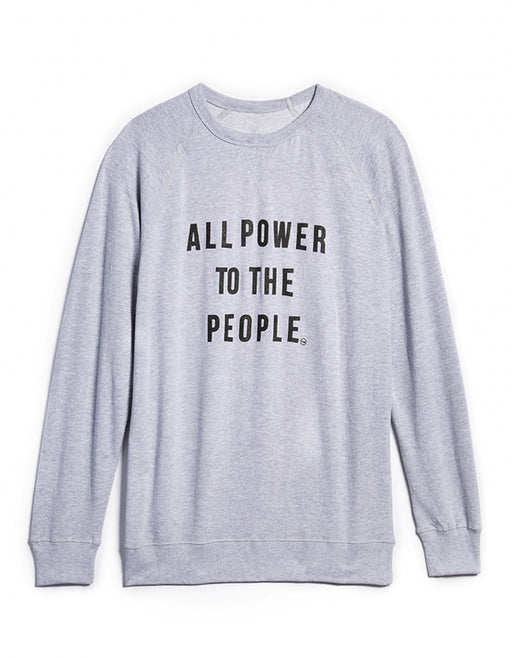 UNISEX POWER TO THE PEOPLE Sweatshirt APTTP12