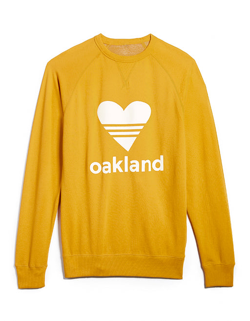 UNISEX SPORTY HEART/ GOLD Sweatshirt ONW111