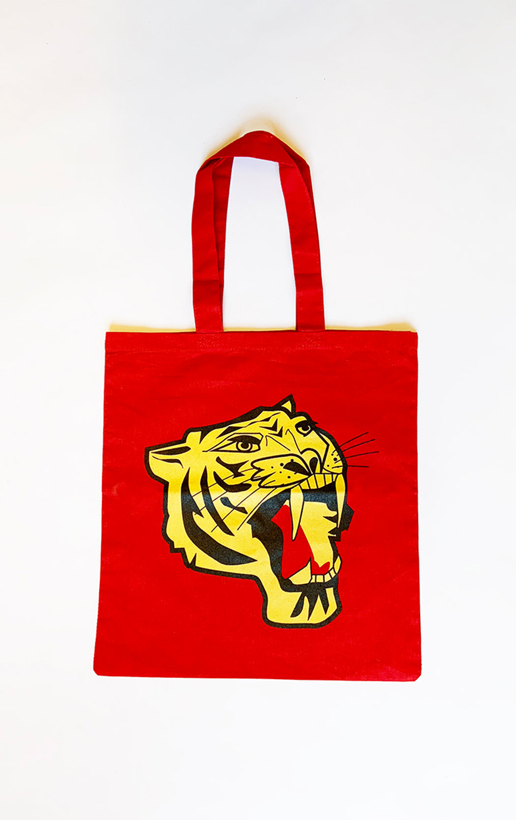 RED ROARING TIGER Tote ONW25