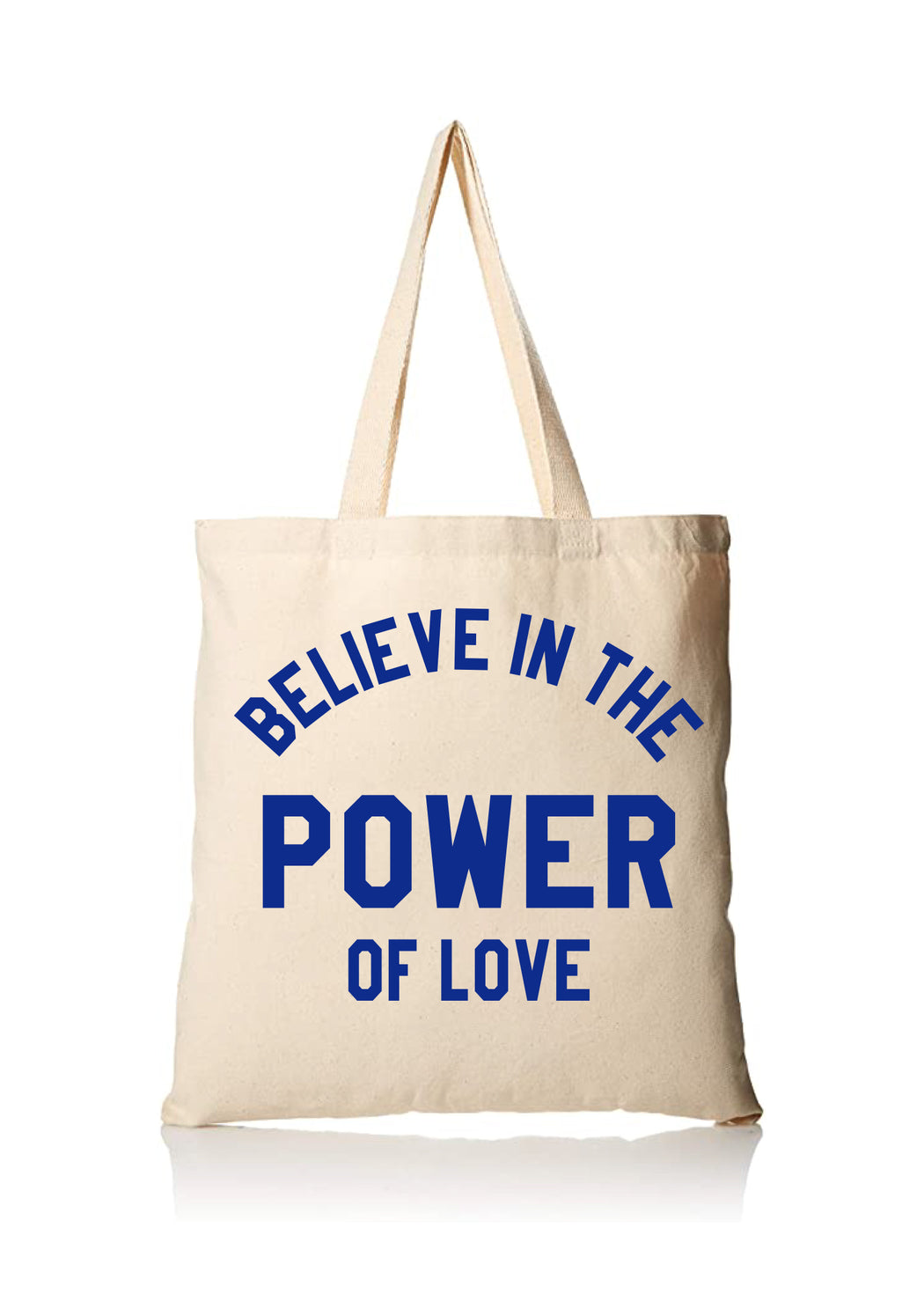 LOVE IS POWER - NATURAL Tote ONW-TOTE-LVPW