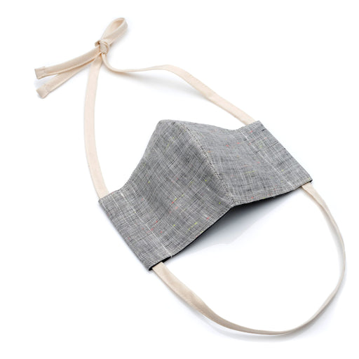 Face Mask GREY CONFETTI Linen