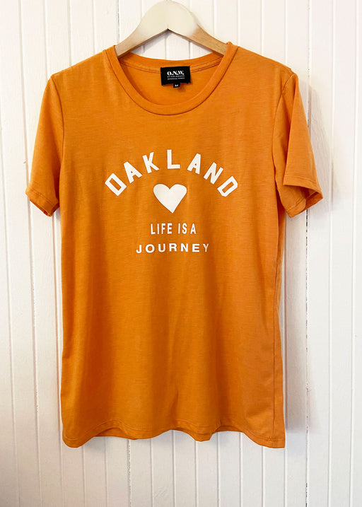 JOURNEY TEE ONW-JRNY-101-ORN
