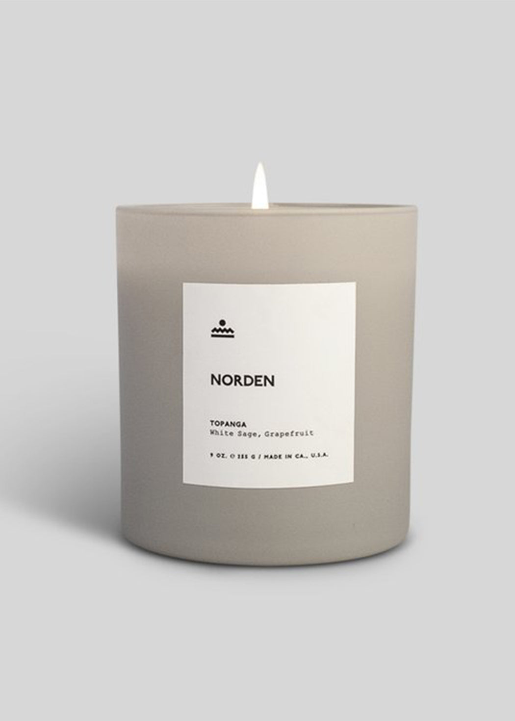 Norden TOPANGA- Glass Candle