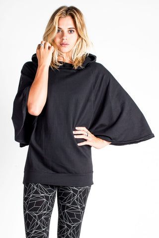 Bat Wing Hooded Shawl - CLEARANCE $44!
