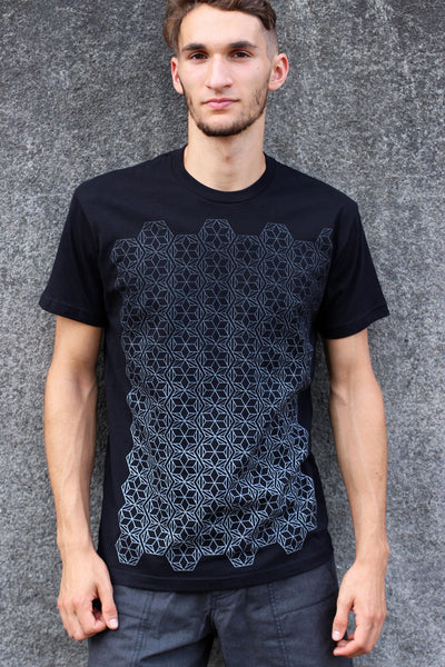 Fade to Black Men's Tee by Rythmatix Clothing