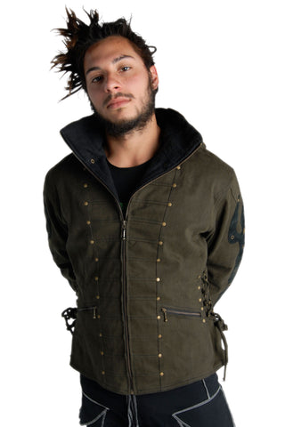 Gevurah Canvas Coat