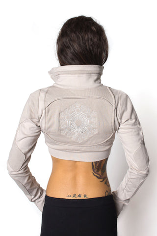 Freq G Crop Jacket - Poly Fleece