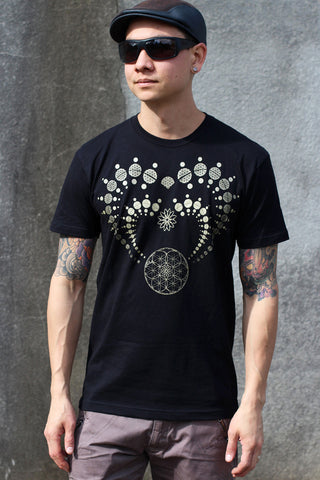 Heart Chakra Men's Tee by Rythmatix Clothing