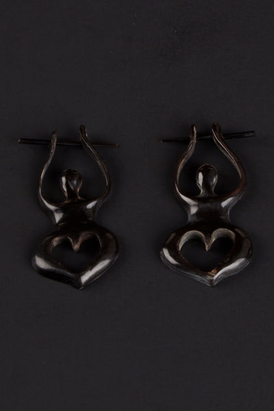 Heart Meditation Earrings