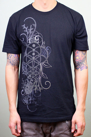 In Bloom Men's Tee by Rythmatix Clothing