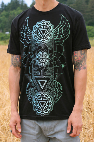 Manipura Chakra Men's Tee by Rythmatix Clothing