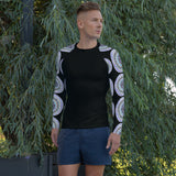 Men's Rash Guard w Colorwheel