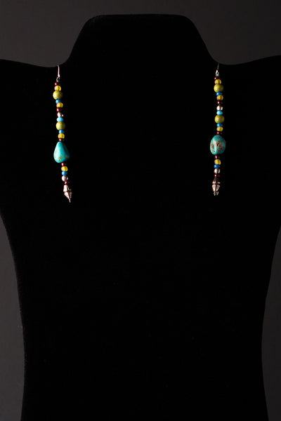 Touch of Turquoise Earrings by Michelle