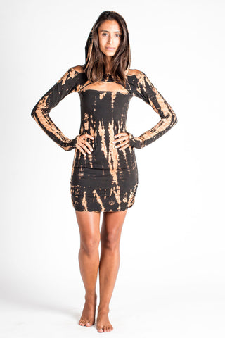 Vega Dress - Tie Dye - CLEARANCE $44!