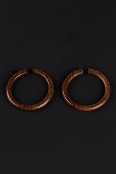 Wooden Hoops - Small
