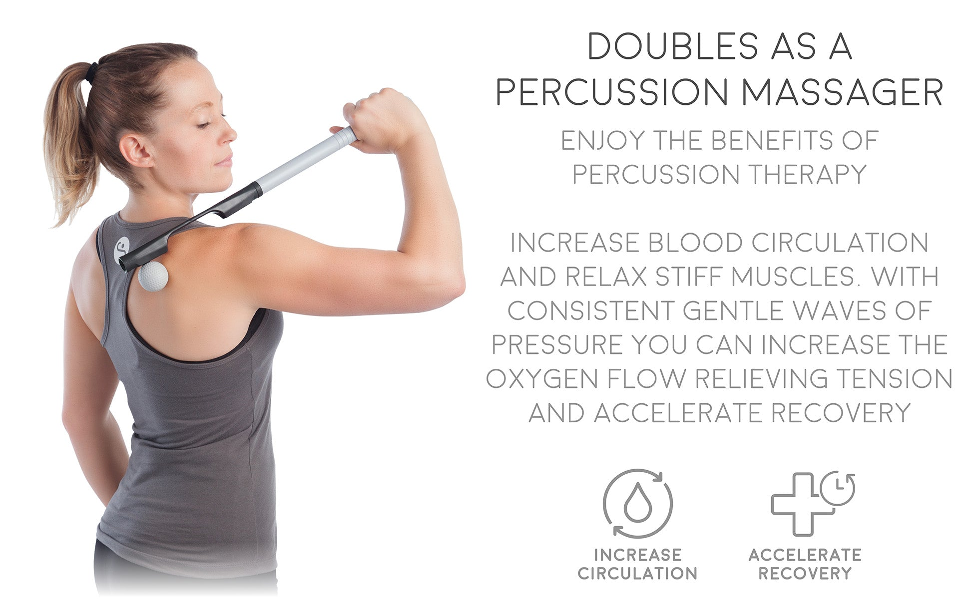 Doubles as a Percussion Massager