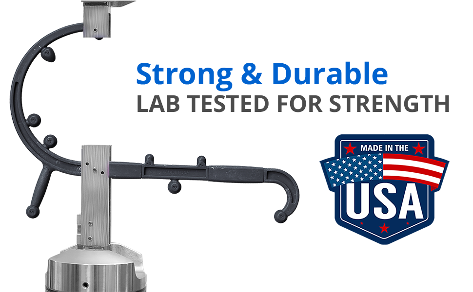 Strong and durable - Made in the USA